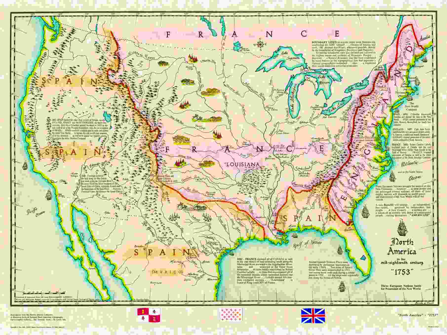 United States Historical Maps United States Genealogy History - United states map mountains