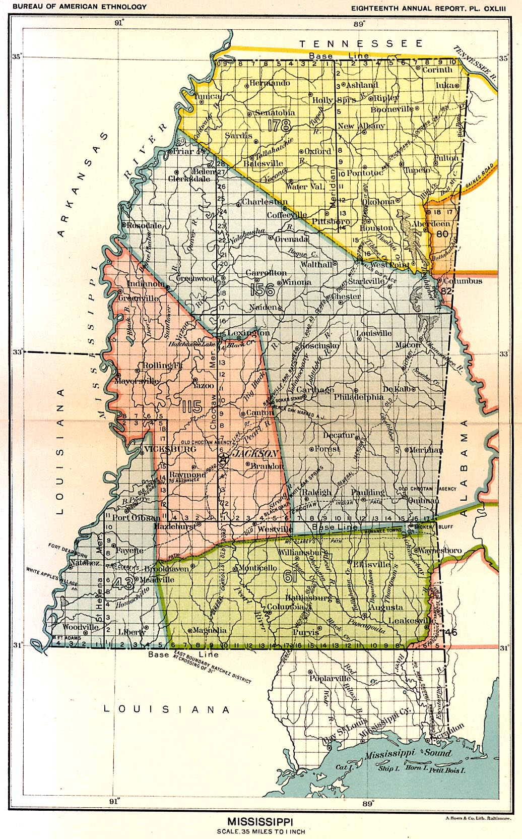 Amite County Mississippi Maps At Mississippi Genealogy History - Counties in ms map